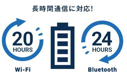 ネクストモバイル(NEXTmobile) ポケットWi-Fiは長時間バッテリー内蔵